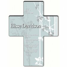 <strong>JDS Personalized Gifts</strong> Personalized Gift Faith and Flowers Cross - Child's Bedtime Prayer Sculpture
