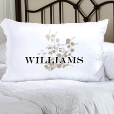 <strong>JDS Personalized Gifts</strong> Personalized Gift Felicity Graceful Nature Poly Sateen Pillowcase