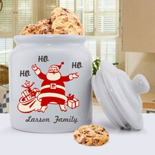 Personalized Gift Holiday Cookie Jar