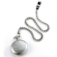 Personalized Gift Men's Pocket Watch
