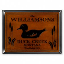 <strong>JDS Personalized Gifts</strong> Personalized Gift Cabin Series Traditional Sign