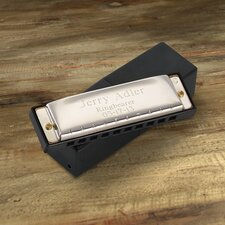 Personalized Gift Stainless Steel Harmonica