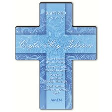Personalized Gift Twinkling Star Cross - Child's Bedtime Prayer Sculpture