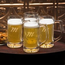 <strong>JDS Personalized Gifts</strong> Personalized Gift Tavern 13 oz. Mug (Set of 4)