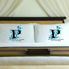 "Personalized Gift Couples ""Nature's Bliss"" Pillowcase (Set of 2)"