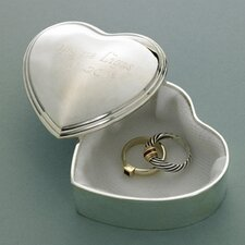 <strong>JDS Personalized Gifts</strong> Personalized Gift Heart Trinket Box