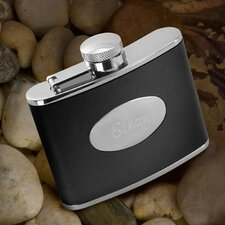 Personalized Gift Leather Flask