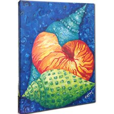 Seashells Mounted Giclee Wall Art