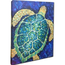 Sea Turtle Mounted Giclee Wall Art
