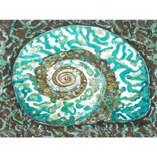 Turban Shell Canvas Mat