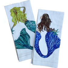 Mermaid Tea Towels (Set of 2)