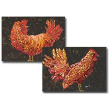 <strong>My Island</strong> Chicken Placemat (Set of 4)