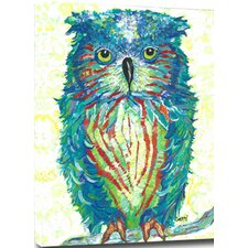 Owl Mounted Giclee Wall Art