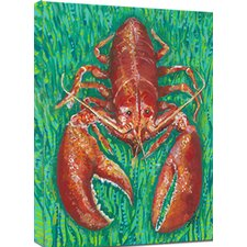Lobster Mounted Giclee Wall Art