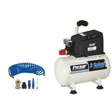 <strong>Pulsar Products</strong> 2 Gallon Air Compressor with Accessories