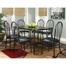 Ebony 7 Piece Counter Height Dining Set