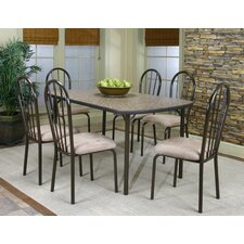 Heath 7 Piece Counter Height Dining Set