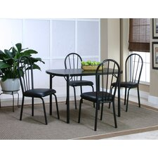 Ebony 5 Piece Dining Set