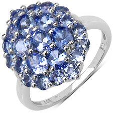 <strong>JewelzDirect</strong> 925 Sterling Silver Tanzanite Ring