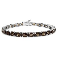 Oval Cut Gemstone Link Bracelet