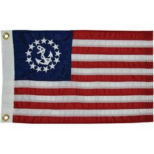 <strong>Taylor Made Products</strong> Sewn U.S. Yacht Traditional Flag