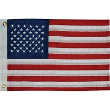 Sewn 50-Star American Traditional Flag