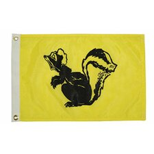 Novelty Design Skunk Traditional Flag