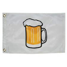 Novelty Design Beer Mug Traditional Flag