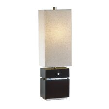 "Waterfall 28"" H Table Lamp with Rectangle Shade"