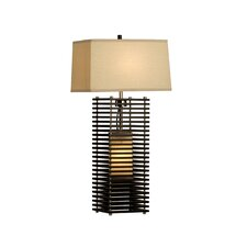 """Kimura Standing 27"""" H Table Lamp with Rectangle Shade"""