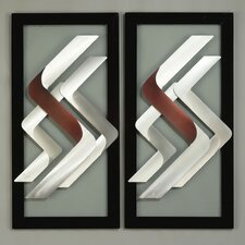 Super S Graphic Wall Décor (Set of 2)