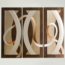 3 Piece Origins Graphic Wall Décor Set