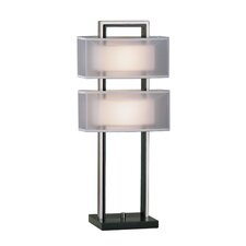 "Amarillo 28"" H Table Lamp with Rectangle Shade"