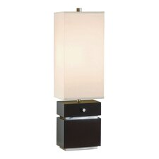 "Expression 28"" H Table Lamp with Rectangular Shade"