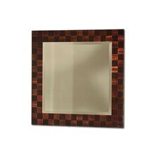 Rootbeer Squared Wall Mirror