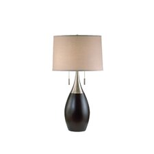 "Pure 30"" H Table Lamp with Drum Shade"