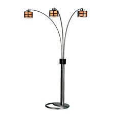 Ventana 3 Light Arc Floor Lamp