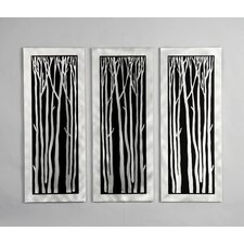 Gilmore Silver Birch Wall Graphic (Set of 3)