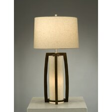 "Britta 28"" H Table Lamp with Drum Shade"