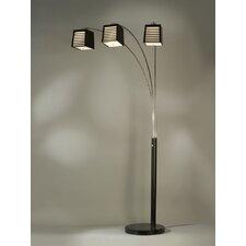 Louver Arc Floor Lamp