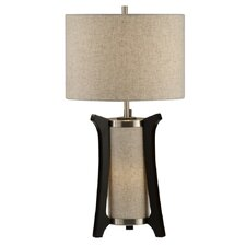 """Hashimoto 25"""" H Table Lamp with Drum Shade"""