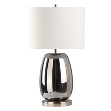 """Bubble 27"""" H Table Lamp with Drum Shade"""