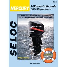 Mercury Outboard, 2001 - 2009 Repair and Tune-Up Manual