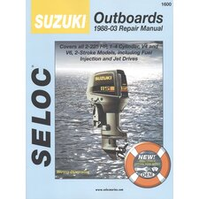 Suzuki Outboard, 1988 - 2003 Repair and Tune-Up Manual