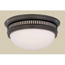 "Newport Flush 13.25"" 2 Light Flush Mount"