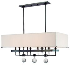 <strong>Hudson Valley Lighting</strong> Gresham Park 8 Light Kitchen Island Pendant