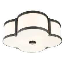 Chandler 3 Light Flush Mount