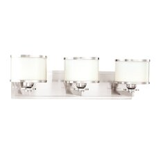 Basking Ridge 3 Light Bath Vanity Light