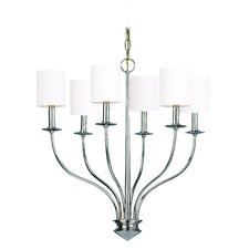 <strong>Hudson Valley Lighting</strong> Sheffield 6 Light Chandelier