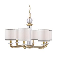 <strong>Hudson Valley Lighting</strong> Rock Hill 6 Light Crystal Chandelier